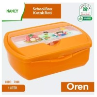 Green leaf NANCY School Box Kotak Makan 1 Liter - 7366