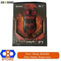 MOUSE GAMING A4TECH X7 F7 SNAKE V-TRACK GAMING MOUSE MACRO GARANSI