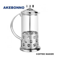 Akebonno Coffee Maker 350 ml Silver 3 Cup