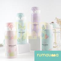 RUMAUMA Botol Air Minum Tropical Dream 350ml Anak Wanita Stainless