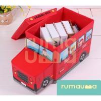RUMAUMA Bus Storage Box Tempat Penyimpanan Laundry Bag Foldable Basket