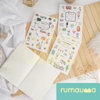 RUMAUMA Buku Tulis Anak Sekolah Notebook Catatan Diary Kuliah 30 Sheet