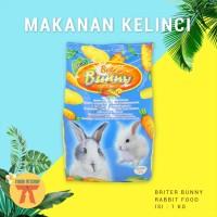MAKANAN KELINCI / RABBIT FOOD BRITER BUNNY 1 KG