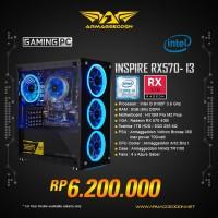 ARMAGGEDDON PC GAMING INSPIRE-I3 INTEL I3 9100F 3.6GHZ + RADEON RX570