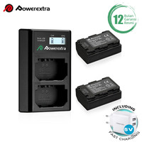 Powerextra Baterai Sony NP-FZ100 2Pack With DualCharger + Fast Adaptor