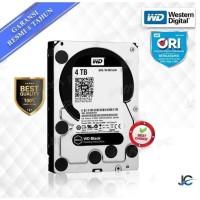 """WDC 4TB BLACK 3.5"""" WD4004FZWX RESMI ORI"""