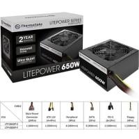Thermaltake Litepower 650Watt PSU / Power Supply - 650 WATT