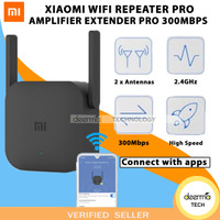 XIAOMI WIFI REPEATER PRO AMPLIFIER EXTENDER PRO 300MBPS ORIGINAL