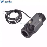 Plastic Water Flow Switch Vertical/Horizontal Water Sensor Magnetic AC