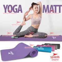 Matras Yoga Mat Karpet Yoga Gym Senam SPEEDS TEBAL 10mm+FREE TAS