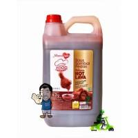MamaSuka Saus Sambal Pedas Delisaos Hot Lava- Chili Sauce 6.2 Kg GRAB