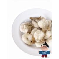 Udang Kupas Beku Ada Ekor- Frozen Peeled Shrimp Tail On 21-25 500gr
