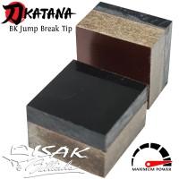 Katana BK Break Jump Tip - Hard Phenolic Cue Tips Billiard Stick JB