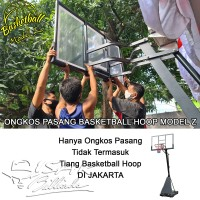 Ongkos Pasang Basketball Hoop Z Tiang Basket SBA027 B700 Ring M027 Rim