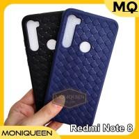 Case Redmi Note 8 WOVEN Leather texture Ultra Slim Soft Case
