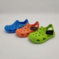 Sepatu Sandal Anak Cowok Crocs Swiftwater Wave SKU:8807013 Original