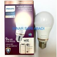 Lampu PHILIPS WIZ Smart Wi Fi LED Bohlam Bulb 9W - Tunable White