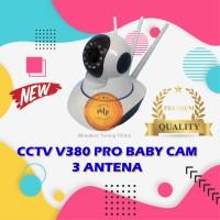 Ip Camera / Kamera CCTV Wireless V380 / Baby Cam / Spy Cam Terlaris