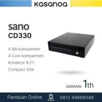 Laci Kasir Cash Drawer Mini Sano CD330, RJ11