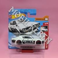 Hot Wheels Short Card HW Rescue Nissan Skyline 2000 GT-R Black White