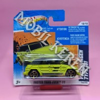 Hot Wheels Short Card Faster Than Ever 11 Volkswagen Type 181 Green