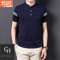 Kaos Polo Shirt Pria Polos | Baju Cowok Polo Kerah Shanghai - Zayn