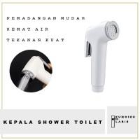Kepala Jet Shower Bidet / Kepala Semprotan Kamar Mandi WC Toilet Putih
