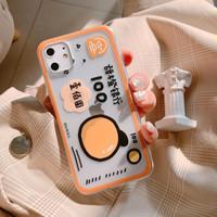 Casing Softcase Transparan Peach 100 iPhone 11/ 11 pro/ 11 promax - Bening 11 pro