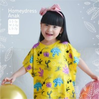 HOME DRESS ANAK | Home Dress Rayon | Baju Tidur Anak | RAYON VISCOSE