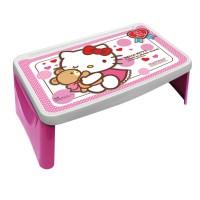 Meja Lipat Belajar Anak Lesehan Hello Kitty NEW Napolly