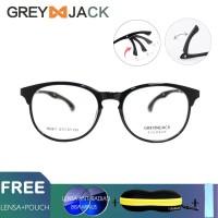 Kacamata sport/ GREY JACK/TR90 anti radiasi blueray bisa minus 1626