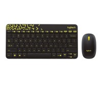 Logitech Wireless MK240 Nano Keyboard dan Mouse Combo