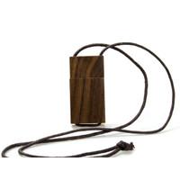Souvenir Promosi Logo Perusahaan USB Flashdisk Kayu Wood Tali