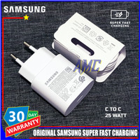 Charger Samsung S20 S20+ S20 Ultra LTE ORIGINAL 100% C TO C 25 Watt