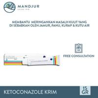 Ketoconazole Cream - Salep Gatal, Panu, Kudis, Kurap, Kutu Air, Eksim
