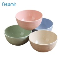 freemir Mangkok Wheatstraw Bowl Mangkuk Plastik Microwave Set 4 Pcs