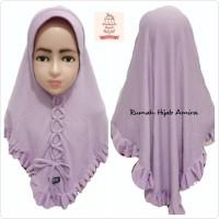 Jilbab Anak Airish Harian Hijab Kepang Dasi