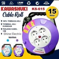 Kabel roll gulung 15m 15meter Cable box gulungan roll 15 meter