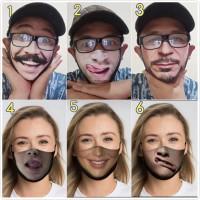Masker lucu masker scuba masker karakter masker unik bkn masker sensi