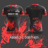 Kaos Jersey Game Esports Mobile Legend Free Fire PUBG CUSTOM AB0652