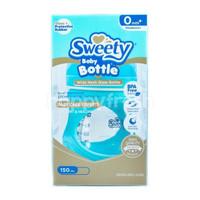 Sweety Baby Bottle Wide Neck Glass Bottle Botol Susu Bayi Blue (150ml)
