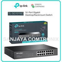 TPLINK TL-SG1016D Switch 16 Port Gigabit Metal Desktop
