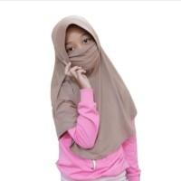 Hijab instan masker anak