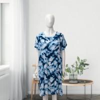 JD37 - Juwa Blue Alena Dress - L