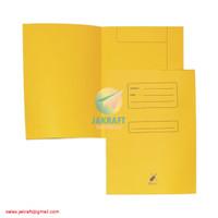 Stof Stop Map Stofmap Stopmap Kertas BIOLA 5002 Kuning Folio Buffalo