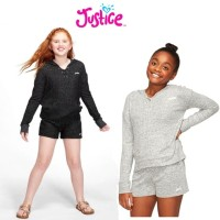 (Size 7-10 Years) Justice Sweetshirt/ Sweater Anak Perempuan