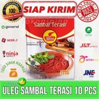 Sambal Terasi Uleg Finna Food 10 Sachet 21 Gram 1 Renceng isi 10 pcs