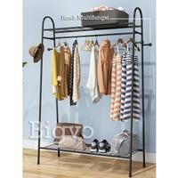 Stand Hanger / Rak Lemari Pakaian Gantungan Baju Topi Tas Serbaguna