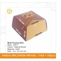 Cake Box, Dus Kue, Gift Box, Multi Purpose Box, Packaging TC - 40411