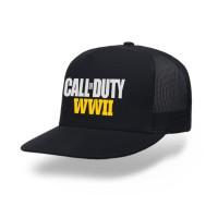 topi trucker jaring premium game call of duty WWII